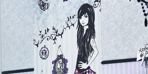 Graffitti-Tapete